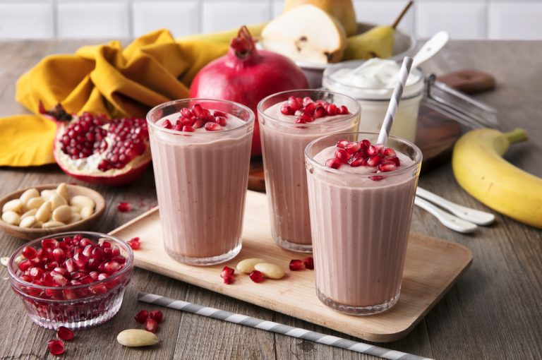 Smoothies alla melagrana